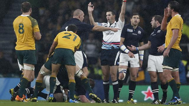 Referee leaves Scotland raging as Aussies enjoy great escape