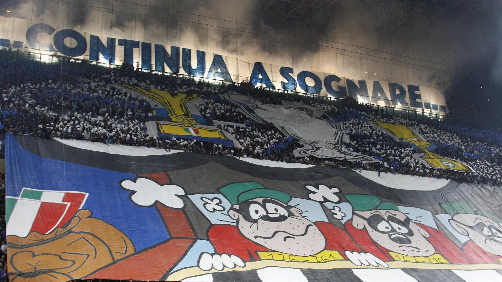 Inter Juventus Tra Coreografia E Sfott 242 La Sfida Tra
