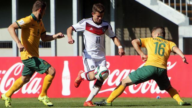 México y Alemania brillan en la jornada del Mundial sub-17