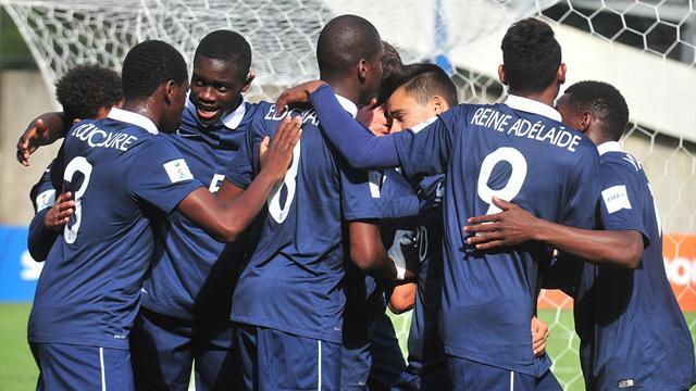 Mundial Sub 17: Francia y Paraguay debutan con goleadas