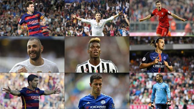 Messi, Ronaldo, Benzema… Votez pour votre Ballon d'Or 2015
