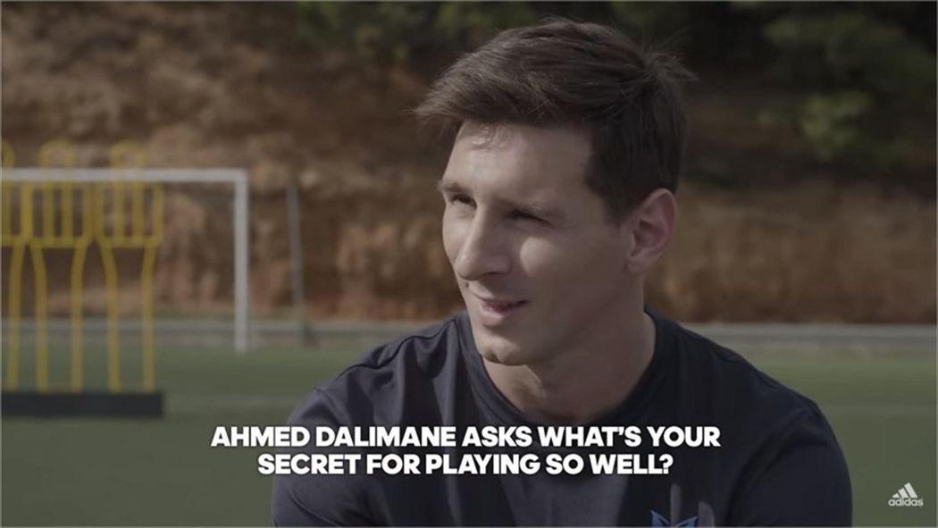 lantano niebla Campo  Barcelona's Lionel Messi reveals his 'secret to success' in Adidas Q&A video  - Liga 2015-2016 - Football - Eurosport UK