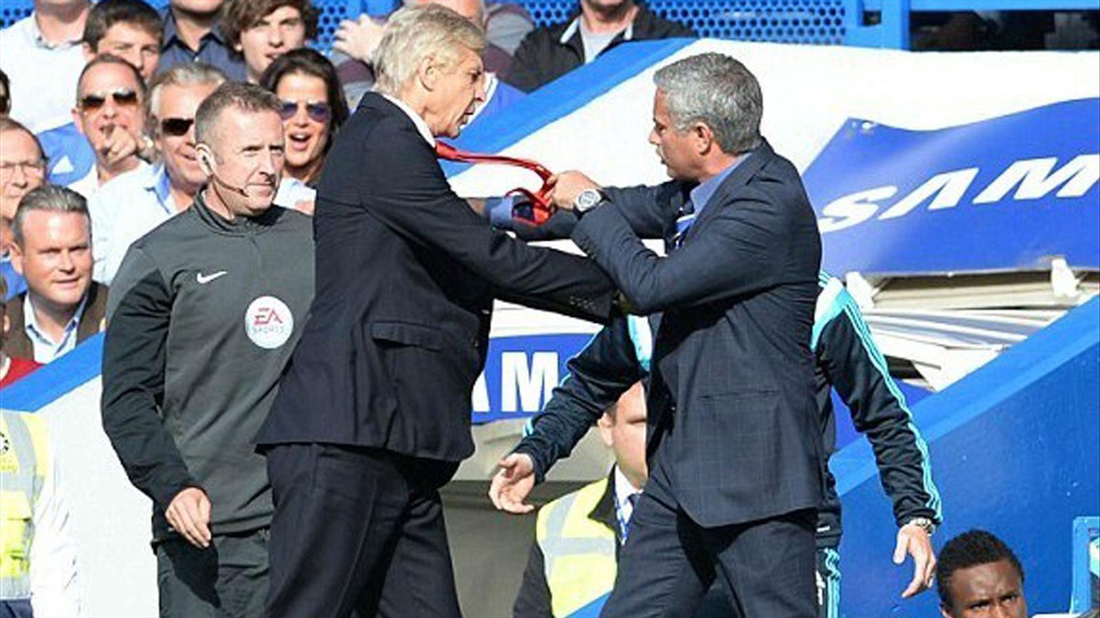 Arsene Wenger, José Mourinho