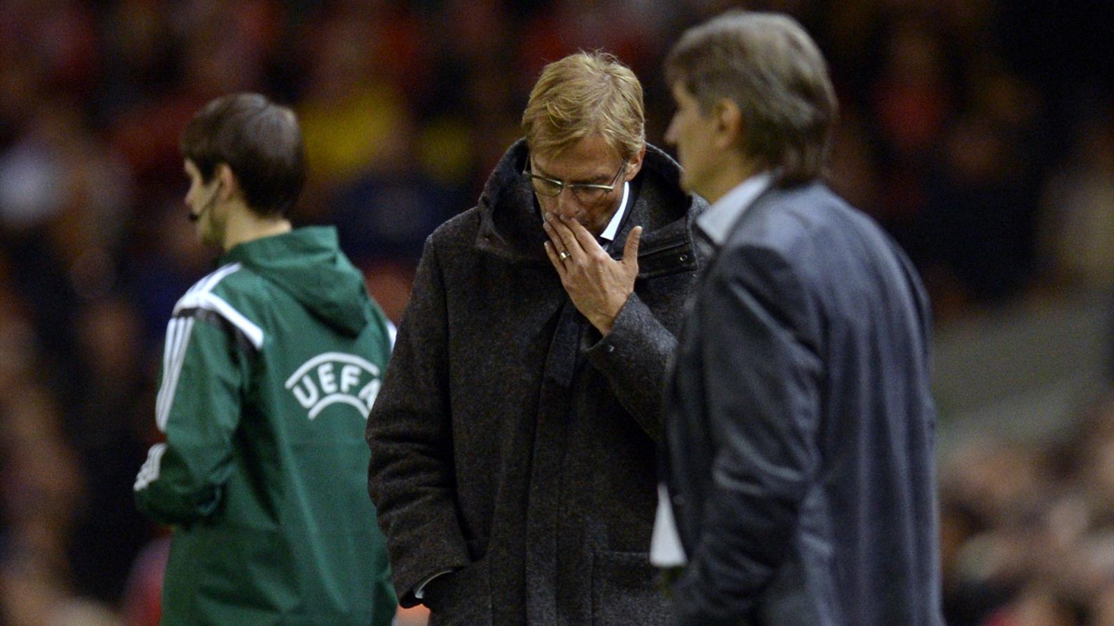 Klopp et Liverpool ont raté leur match face au Rubin Kazan