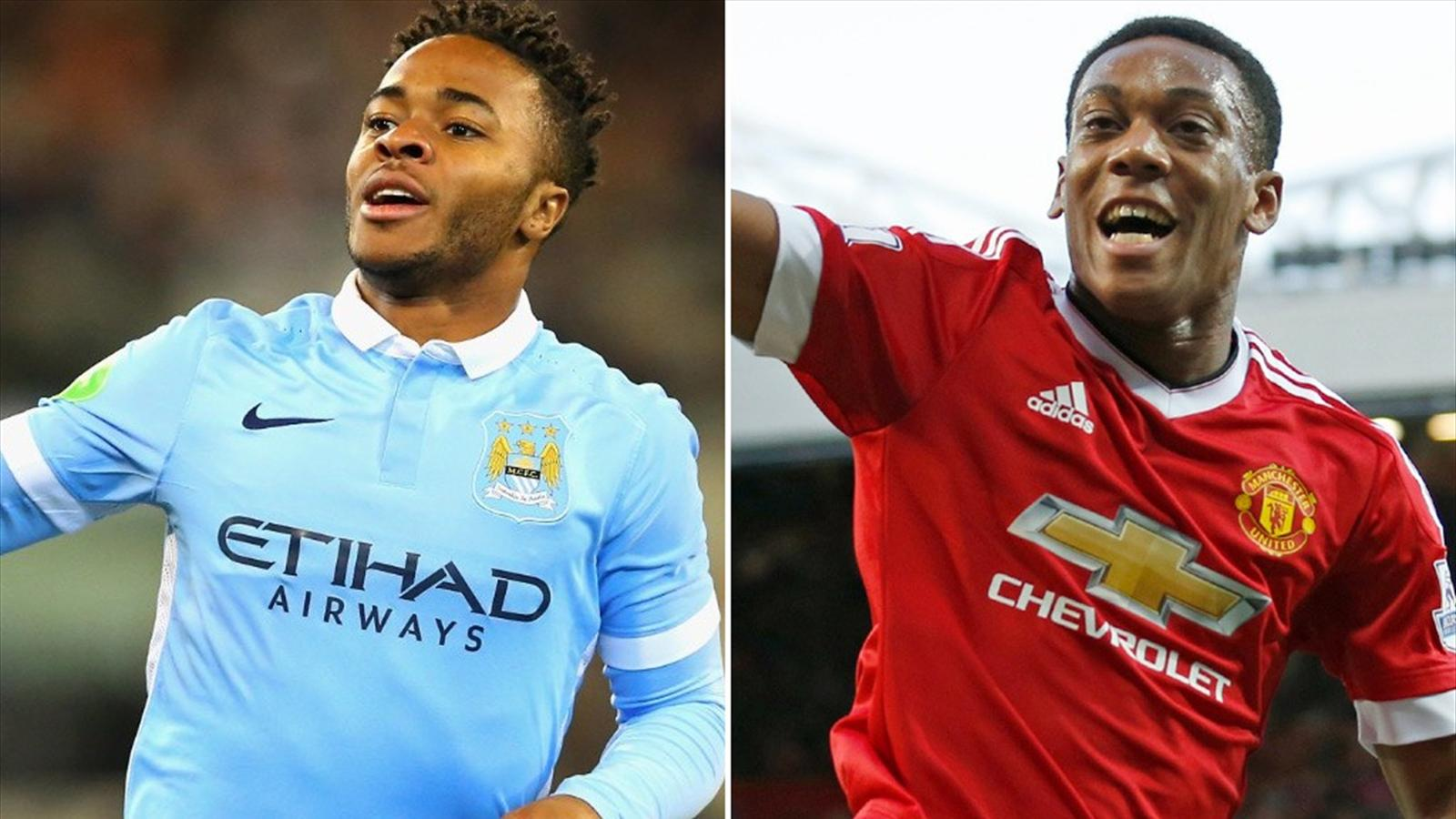 manchester city manchester united head to head