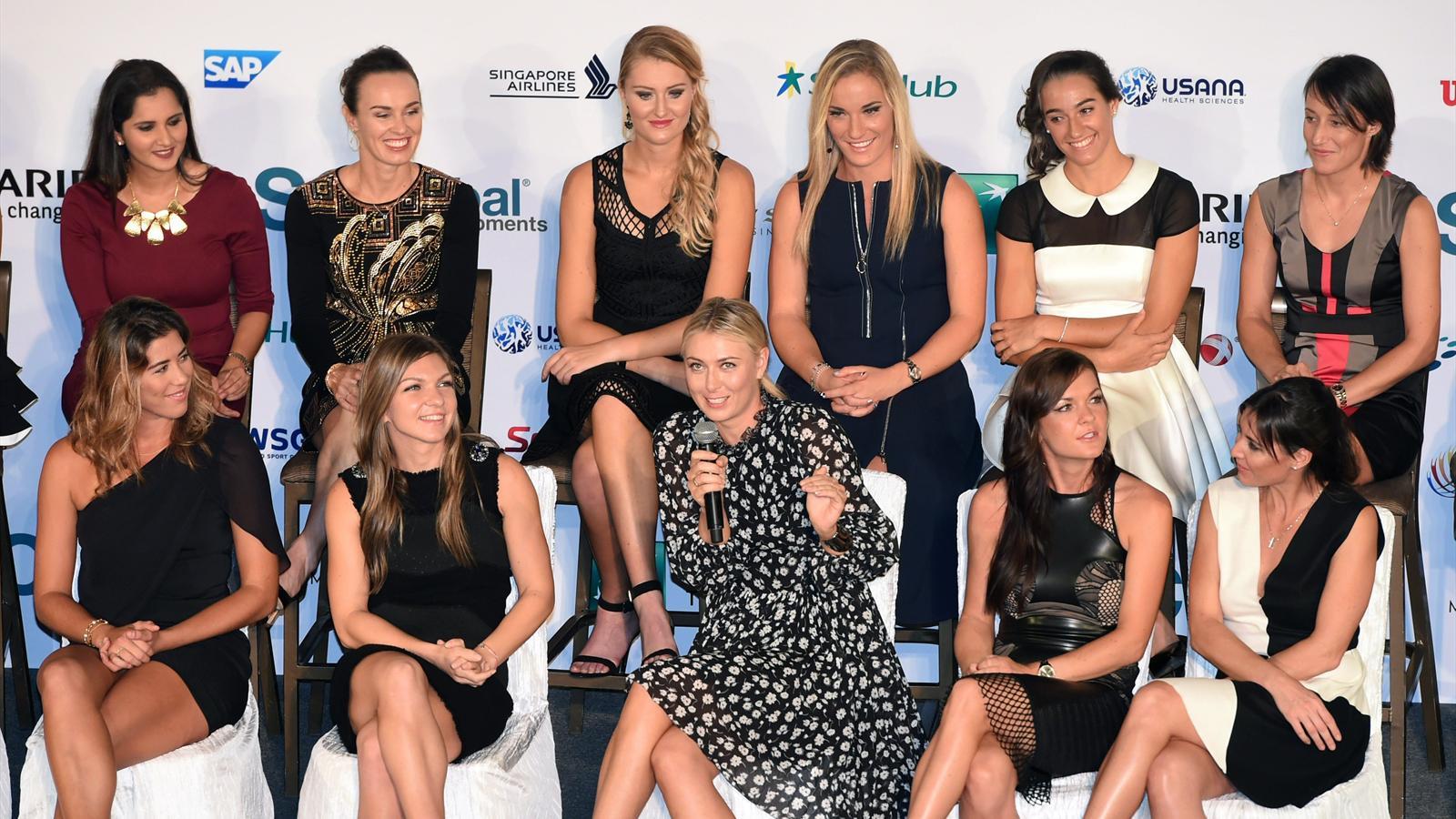 Radwanska, Pennetta, Halep, Sharapova, Muguruza, Kerber, Kvitova, Safarova, Wta Finals