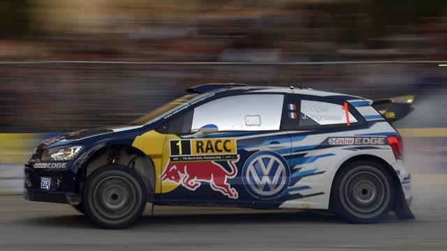 Ogier domina davanti a Latvala, podio Volkswagen
