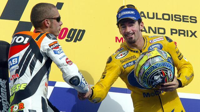Da Biaggi a Marquez: i 7 duelli verbali e psicologici di Rossi