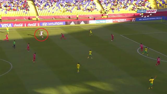 La folle chevauchée du gardien de but de l'Afrique du Sud au Mondial U17