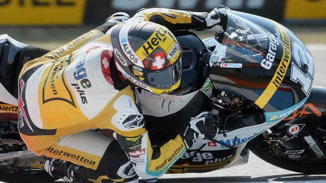 Moto2: Luthi vince la prima gara dell'anno, Corsi 3°: Morbidelli settimo