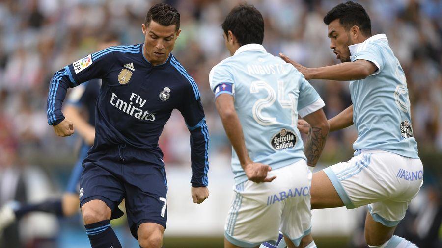 Cristiano Ronaldo (Real Madrid) face au Celta Vigo