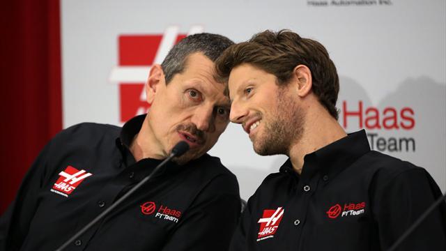"""Grosjean : """"Les premiers tours au volant de la Haas seront incroyables"""""""