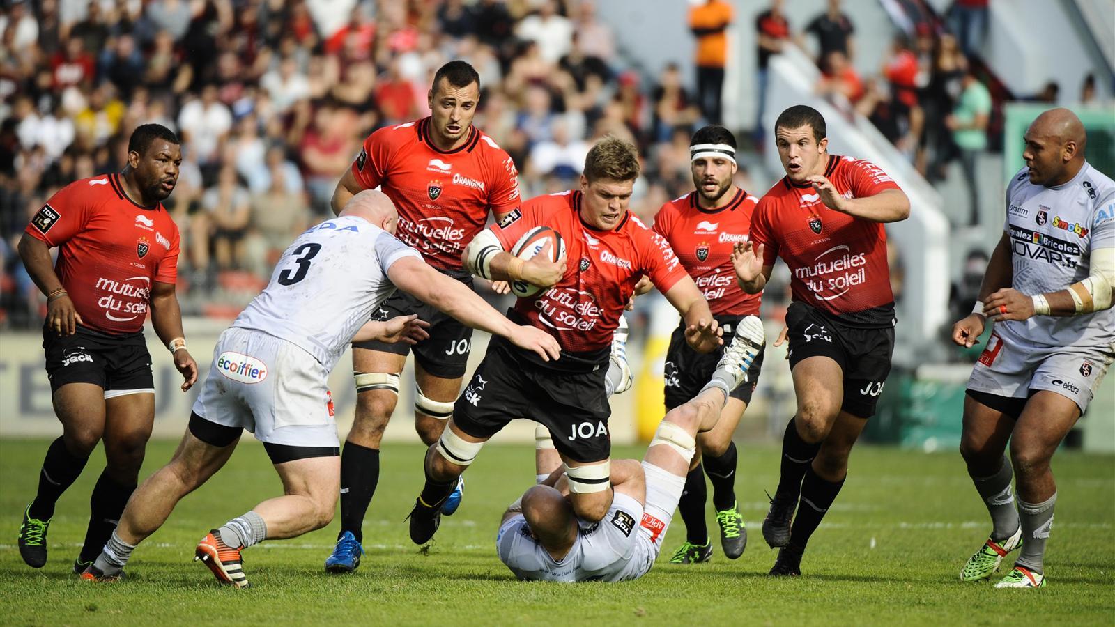 Juan Smith (Toulon) face à Oyonnax - 24 octobre 2015