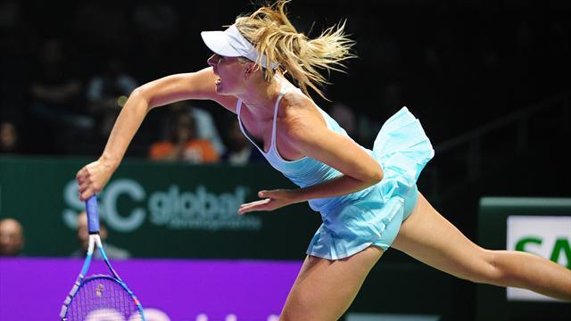 Retour gagnant pour Sharapova face à Radwanska