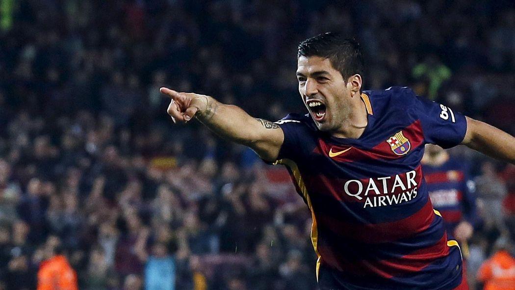 Luis suarez scores hat trick as barcelona beat eibar liga 2015 luis suarez scores hat trick as barcelona beat eibar liga 2015 2016 football eurosport asia voltagebd Gallery