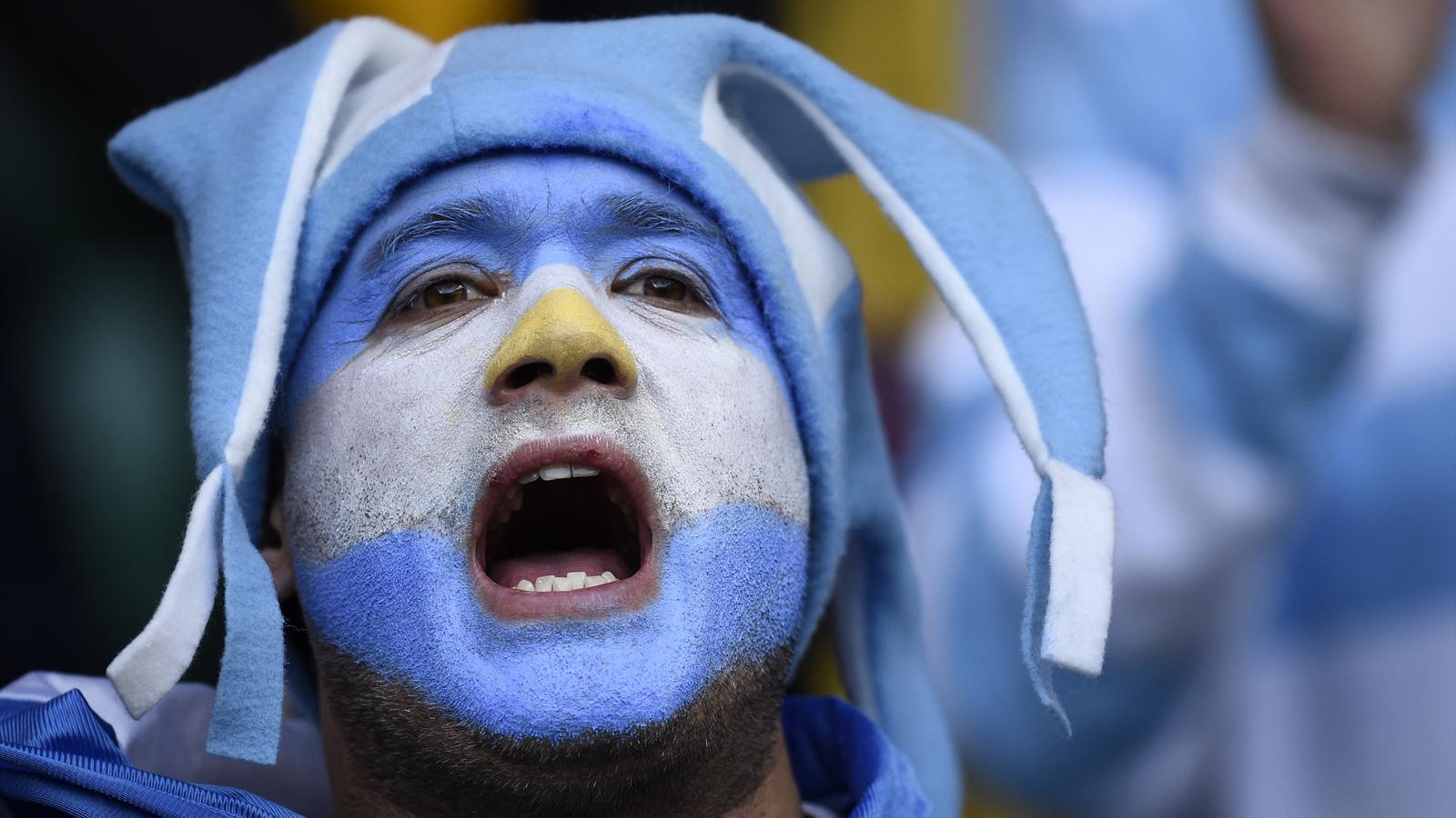 Supporter de l'Argentine - 25 octobre 2015