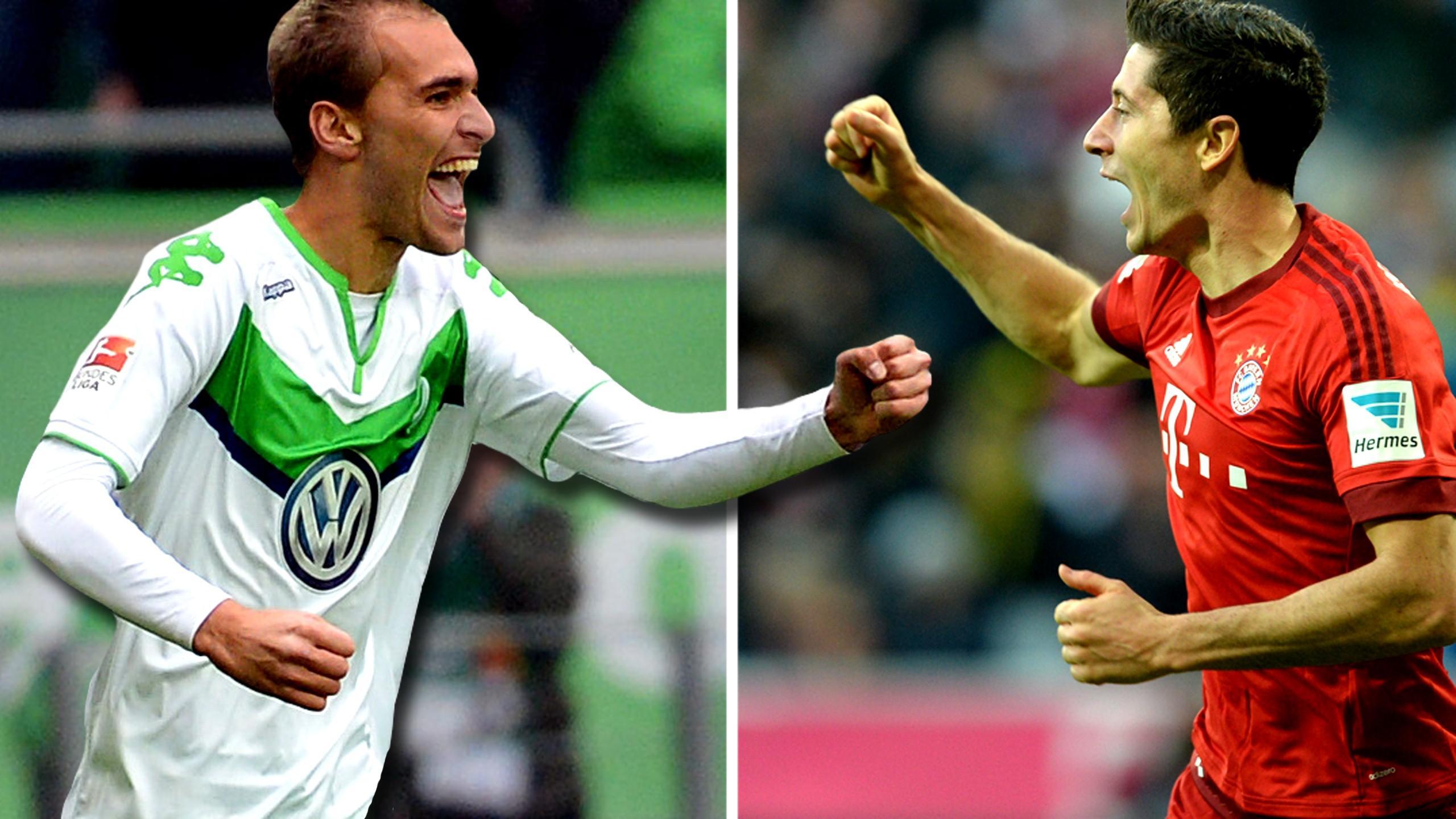 Fc Bayern Gegen Wolfsburg Dfb Pokal