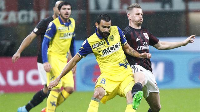 Serie A, Chievo-Milan in diretta alle 20.45. Le formazioni ufficiali
