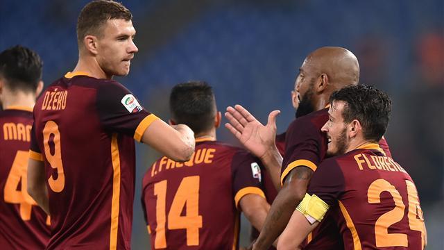 L'AS Rome ne s'arrête plus, la Juve replonge dans ses doutes