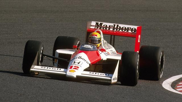 Kein Tag wie jeder andere: Sennas erster WM-Titel