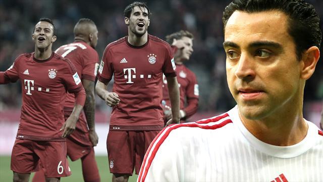 """Xavi schwärmt von Bayern: """"Wir wurden selten so vorgeführt"""""""