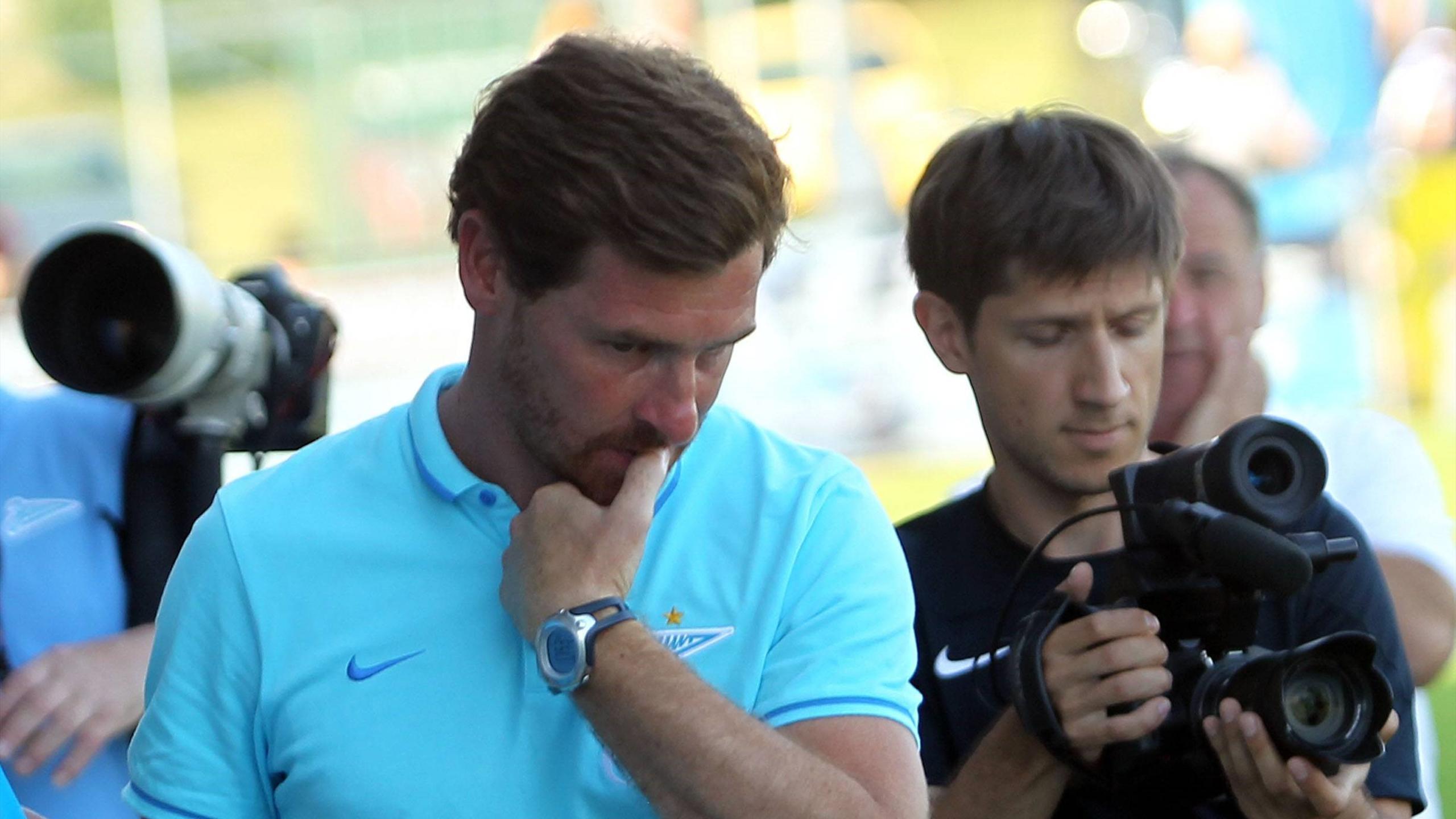 Андре Виллаш-Боаш, главный тренер «Зенита»