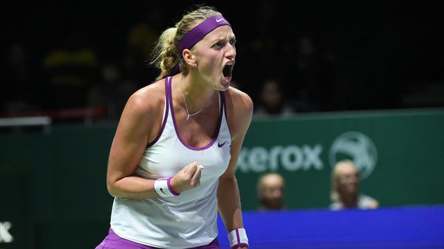 Kvitova doit sa place en demies à Safarova