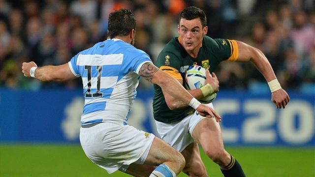 Mundial de rugby: Sudáfrica se cuelga el bronce ante Argentina (24-13)