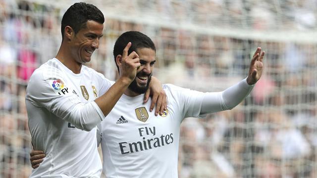 Real Madrid-Las Palmas: Con este Isco nadie se aburre (3-1)