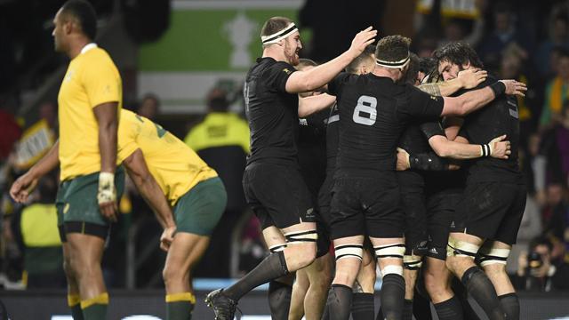 Nueva Zelanda derrota a Australia y gana su tercer Mundial de rugby (34-17)