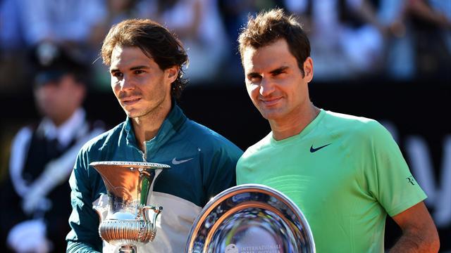 El reto que ronda la cabeza de Roger Federer: Rafa Nadal y la tierra batida