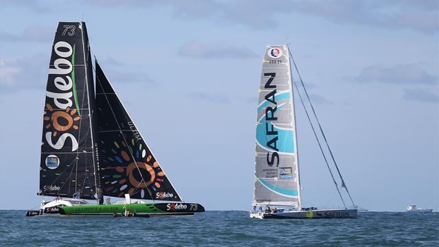 Leur bateau menaçait de couler, Thomson et Altadill ont été hélitreuillés
