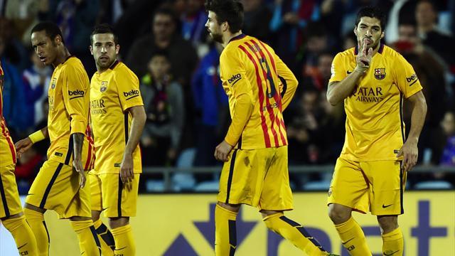 Insatiables, Suarez et Neymar replacent le Barça à la hauteur du Real