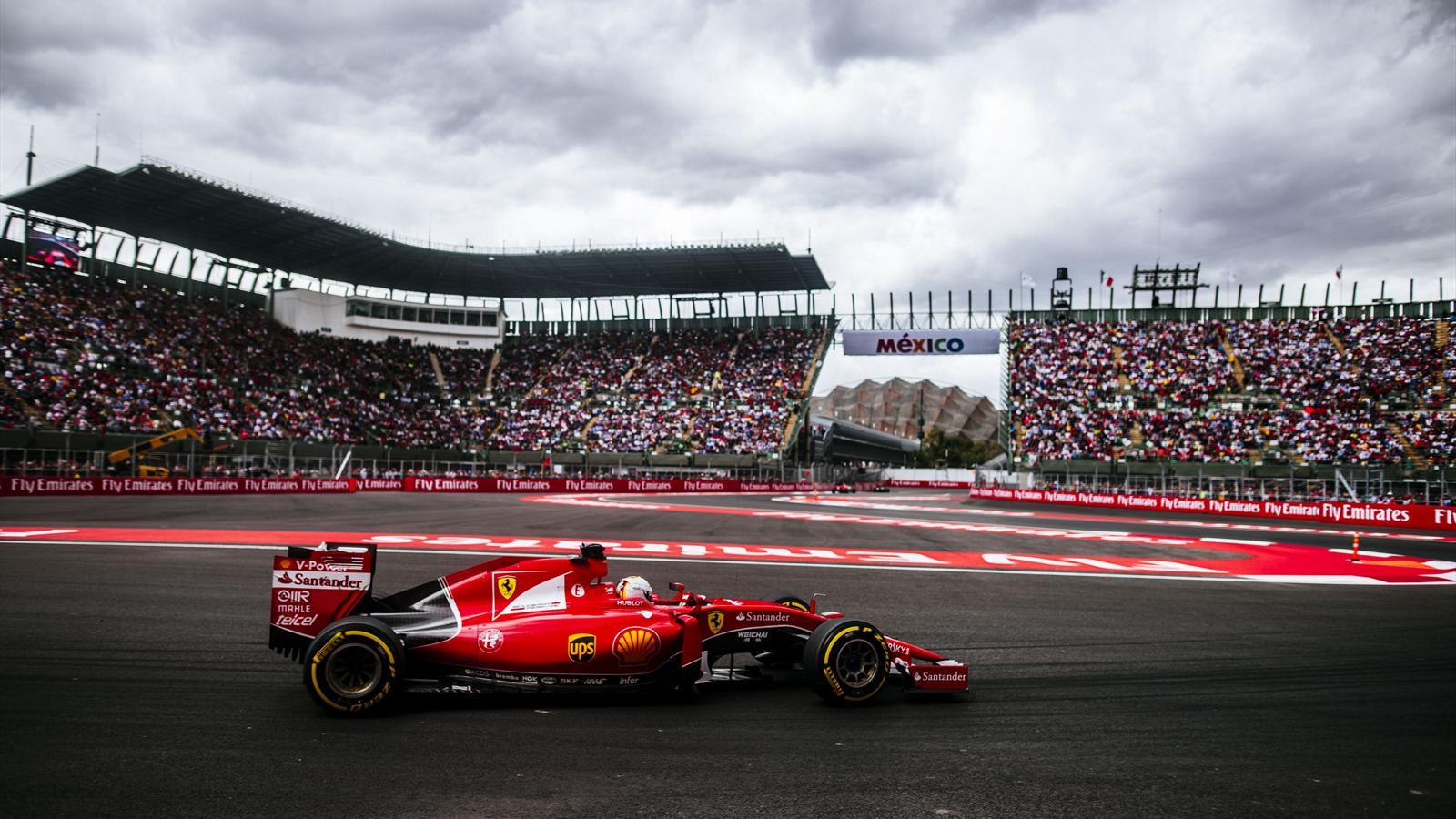 Sebastian Vettel (Ferrari) - GP of Mexico 2015