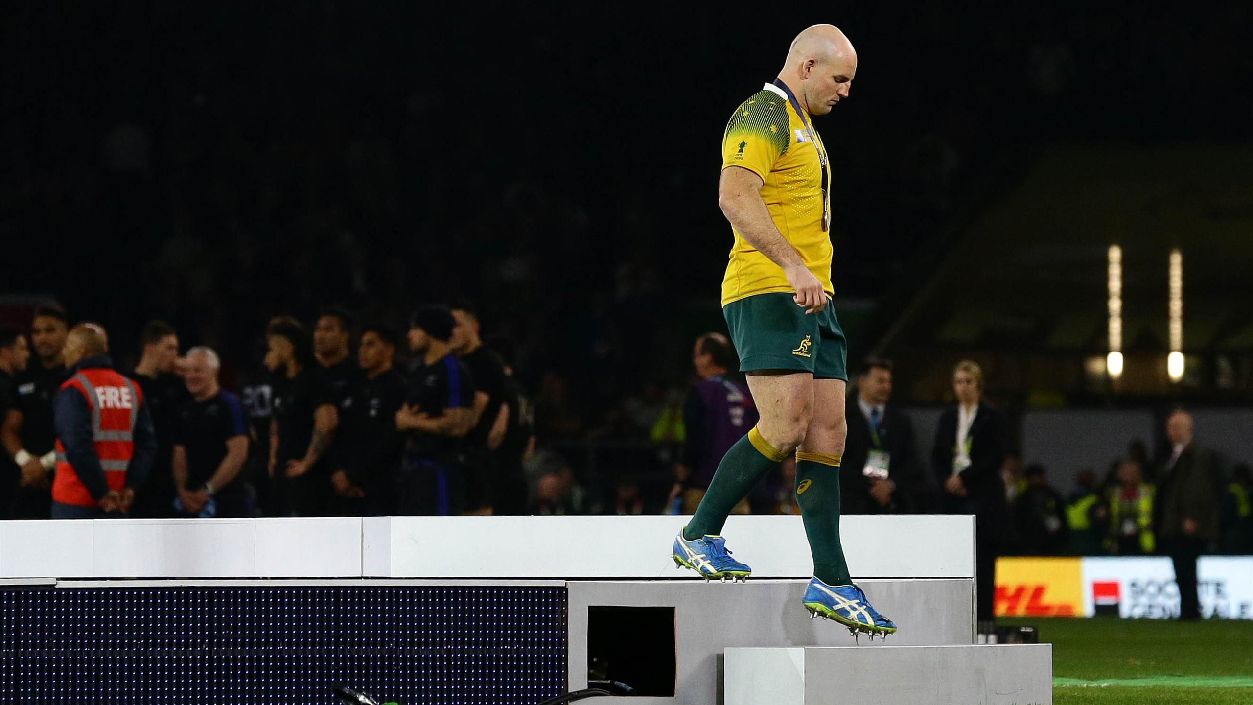 La déception de Stephen Moore - Nouvelle-Zélande-Australie - 31 octobre 2015