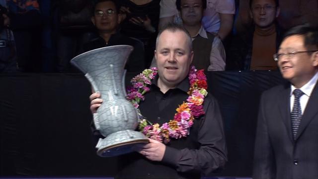Higgins wins International Championship