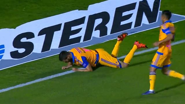 Comme Valbuena, Gignac a raté sa célébration