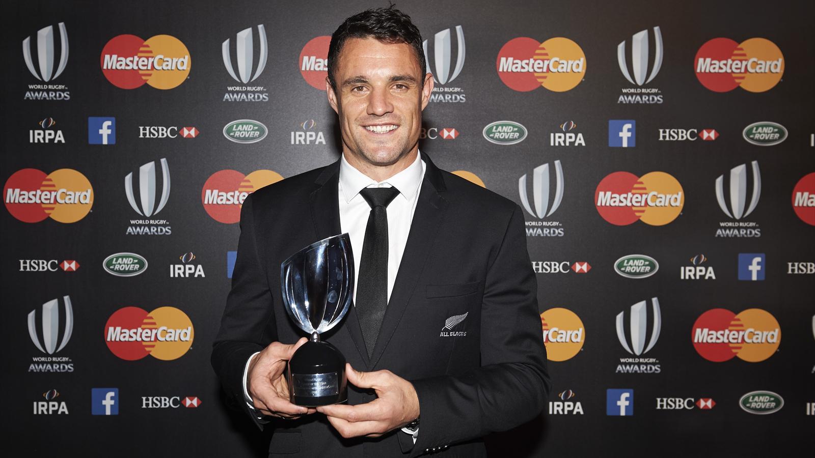 all blacks dan carter lu meilleur joueur du monde pour la 3e fois par world rugby coupe du. Black Bedroom Furniture Sets. Home Design Ideas