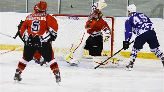 Duelo en la cumbre en la Liga Nacional de Hockey sobre Hielo