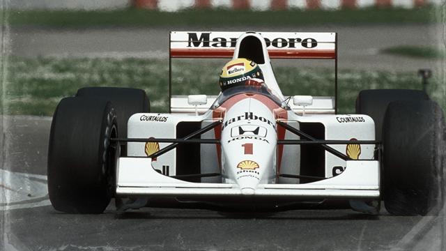 Kein Tag wie jeder andere: Sennas letzter WM-Titel