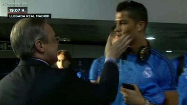 Le coup de pression de Florentino Perez à Ronaldo