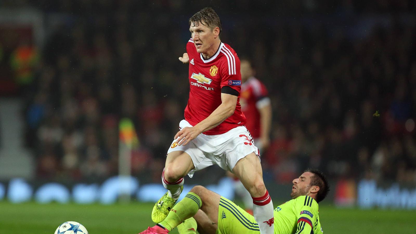 Bastian Schweinsteiger (Manchester United) gegen ZSKA Moskau