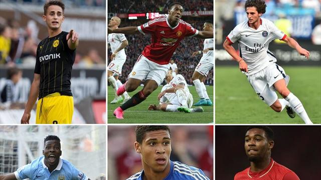 Have your say: Who should win the 2015 Golden Boy Award?