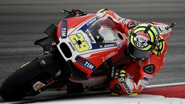 Libres 3 : Iannone domine, Rossi met la pression, Lorenzo s'agace