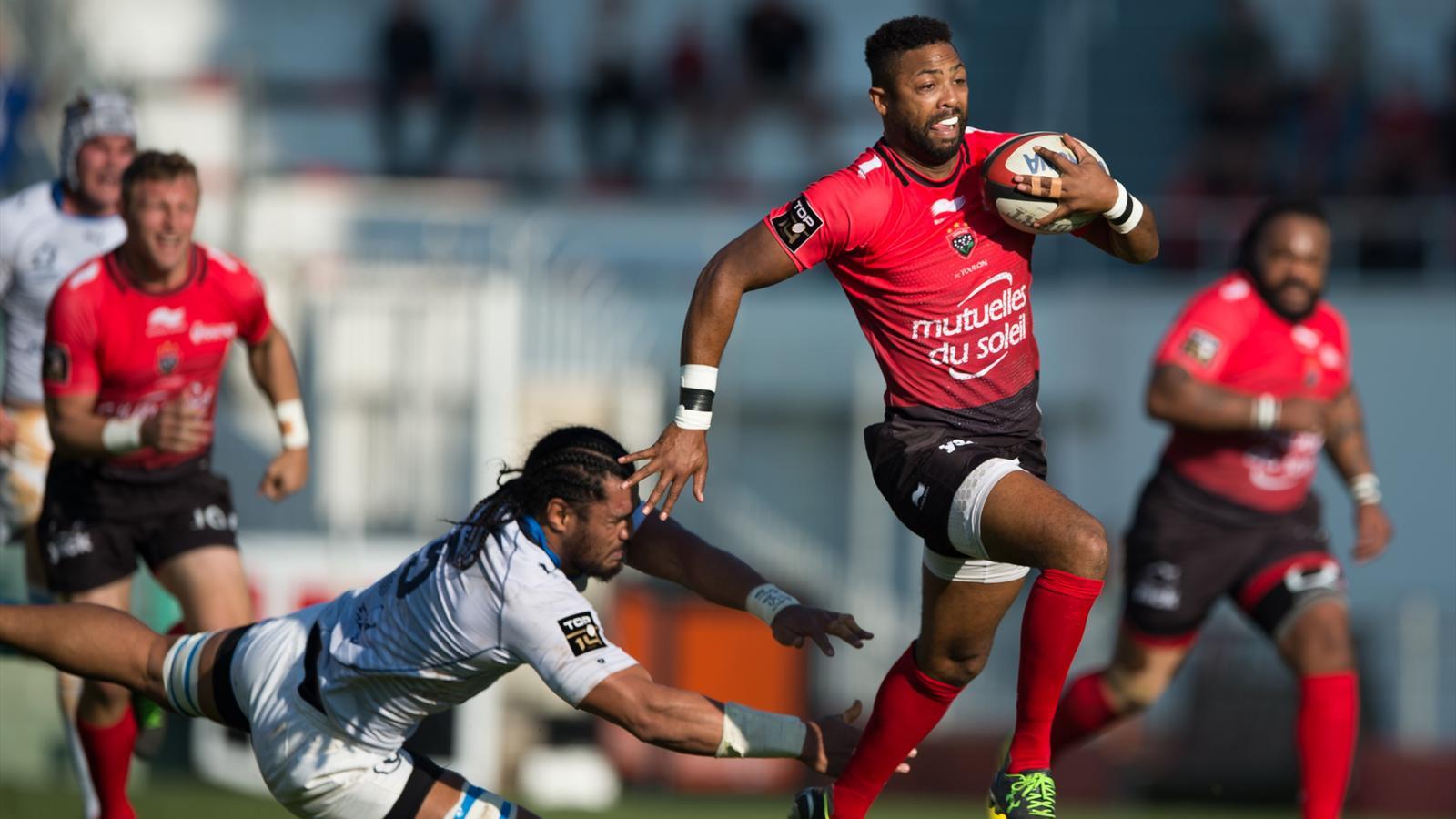 Delon Armitage (Toulon) face à Montpellier - 7 novembre 2015