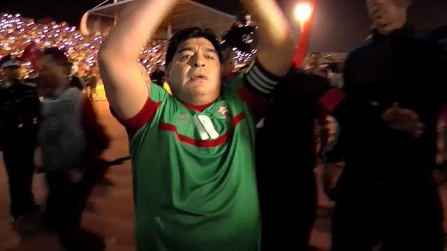 Avec sa patte gauche, Maradona marque encore de beaux buts