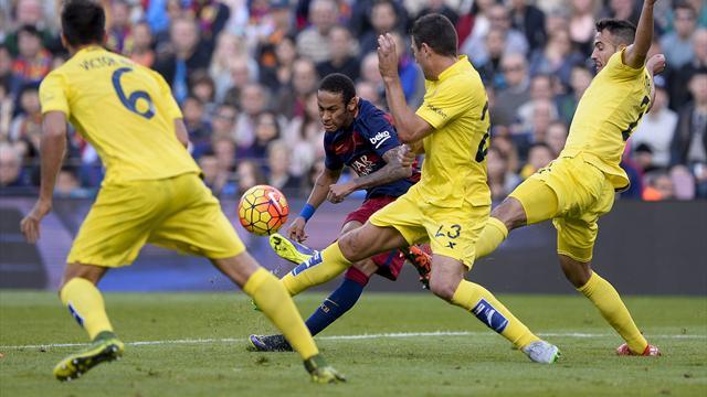 Neymar et Suarez continuent de porter le Barça