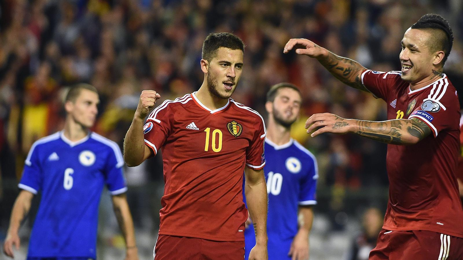 Twelve Premier League Players In Belgium S Euro 2016 Squad Eurosport