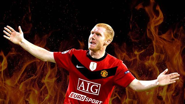 «Я бы не хотел играть в таком «Юнайтед». Как и зачем Скоулз мочит Ван Гала