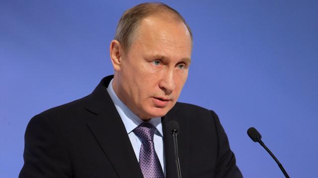 Vladimir Poutine candidat à la présidentielle russe de mars 2018